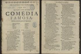 Hallada en la Biblioteca Nacional una copia pirata de una obra de Lope de Vega